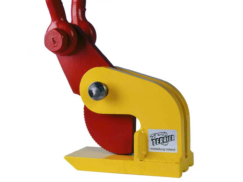 terrier lifting clamps bv, lifting clamps, grab clips, claw, lifting equipment, lifting technology, horizontal lifting, tdh, stuut lifting lashing