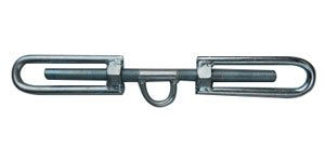 Example of a Hamburger turnbuckle, manufactured by Yuedasite Rigging in China