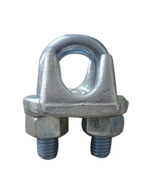Example of a forged US-type wire rope clamp from Yuedasite Rigging from China