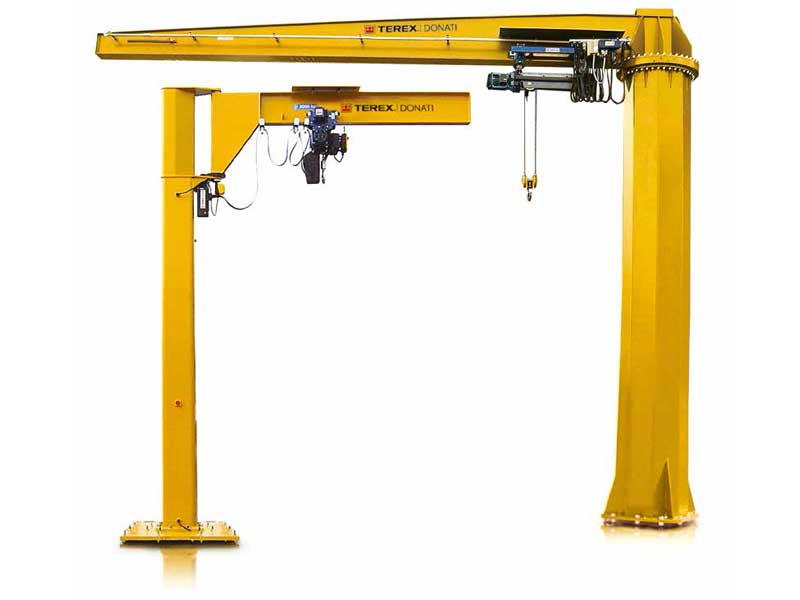 donati, catalog, jib crane, gantry crane, slewing crane, overhead crane, crane technology, lifting solutions, wire rope hoist, chain hoist, electric, stuut lifting lashing