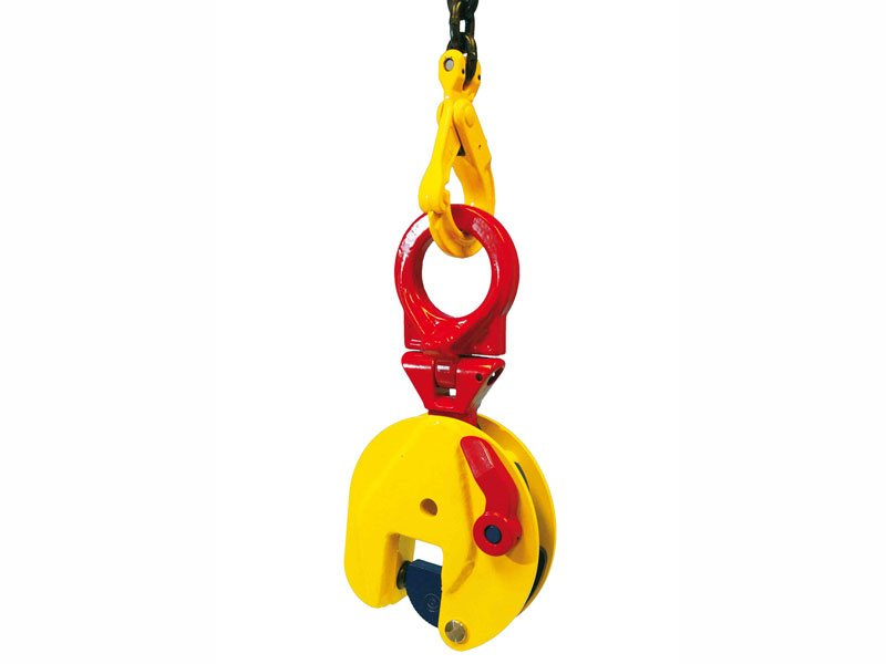 Heavy load clamp TSU for vertical lifting of Terrier