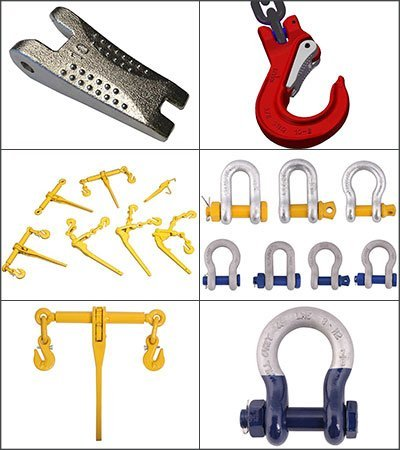 stuut lifting lashing, qinde rigging, shackles, ratchet loaders, gk8 forgings, safety bolts, bolts, bow shackles, d-shackles, safety locks, ratchet load binders, screw pin, safety pin