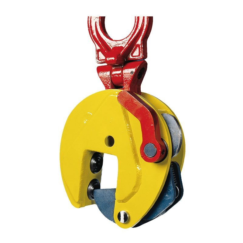 Example of vertical lifting clamps of the TSHPU model