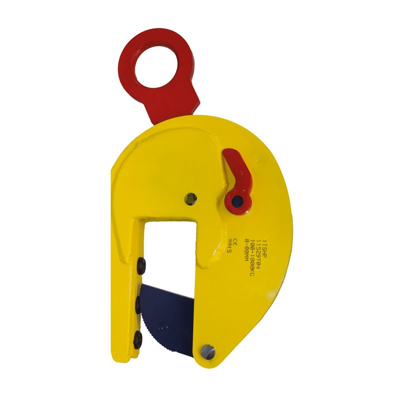 Example of vertical lifting clamps of the TSHP / TSHP-A model