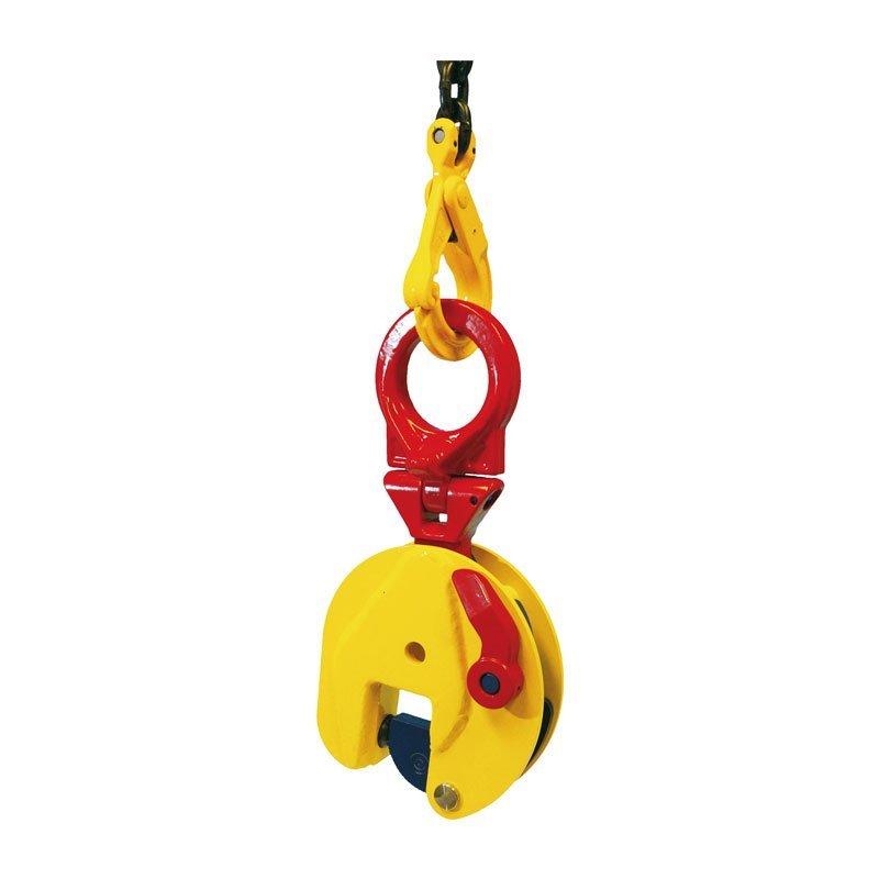 Example of vertical lifting clamps of the TSU / TSEU / STSU model