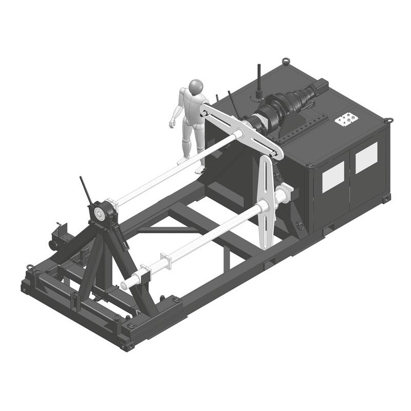 Beispiel für eine Seil-Wickelmaschine von TWS