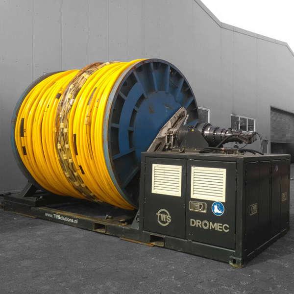 TWS bietet Miet-Winden und -Wickelmaschinen an und wartet vorhandene Seilwinden